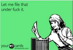 That file is pretty full already.