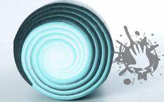 polymer clay tutorial murrina spirale / swirl millefiori cane