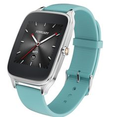 ASUS ZenWatch 2 Android Wear Smartwatch - Silver case with Brown rubber band (Discontinued by Manufacturer) Android Wear Smartwatch, Android Watch, Best Android, Wearable Device, Wearable Technology, Technology Gadgets, Ifa Berlin, Hanging Pendants, Rubber Bands