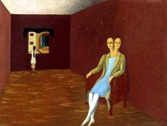 Rene Magritte La Loge ou Letrangère, 1925