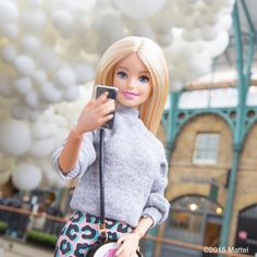 """""""It's perfect lighting for a selfie! #barbie #barbiestyle"""""""