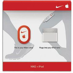 Pick your mix and motivate your run with the Nike + iPod Sport Kit. Nike+ lets you listen to tunes while you track your progress on an iPod nano. Simply slip the Nike+ sensor into your. More Details Running Accessories, Hard Men, Running Gear, Running Shoes, Ipod Nano, Foot Locker, Cool Tools, Sports Equipment, Cool Gadgets