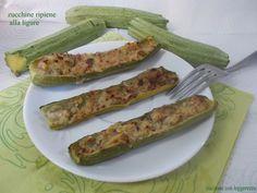 in estate preparo spesso le zucchine ripiene tipiche liguri
