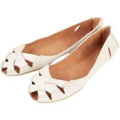 TOPSHOP HAITI Peep Toe Sandals ($70) ❤ liked on Polyvore