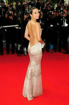 Zhang Ziyi - - dreamt she was in tied in rope dressed in lingere being rolled down the red carpet coming out of a limo Zhang Ziyi, Hot Actresses, Beautiful Actresses, Asian Celebrities, Celebs, Asian Woman, Asian Girl, Beautiful Asian Women, Look Fashion
