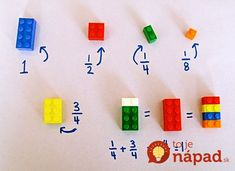 Funny pictures about Easy Way To Teach Fractions Using LEGO Bricks To Children. Oh, and cool pics about Easy Way To Teach Fractions Using LEGO Bricks To Children. Also, Easy Way To Teach Fractions Using LEGO Bricks To Children photos. Math For Kids, Fun Math, Math Games, Math 2, Teaching Fractions, Teaching Math, Teaching Career, Primary Teaching, Math Fractions