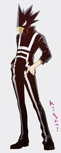 Fumikage Tokoyami / Tsukuyomi (My Hero Academia) Hero Academia Characters, My Hero Academia Manga, Anime Characters, Me Me Me Anime, Anime Guys, Manga Anime, Blade Runner, Tokoyami Boku No Hero, Boku No Academia