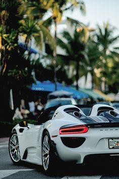 """supercars-photography: """" Porsche 918 in Miami """""""
