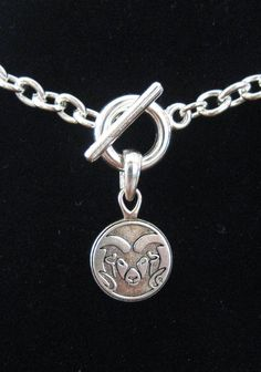 new! colorado state university csu rams silver toggle charm necklace fan jewelry from $12.89