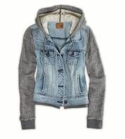 Oh how I would LOVE to Love you!!  AE Denim Vested Hoodie