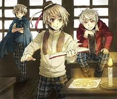 Magic Trio. . . Oh my god. This has to be my favorite trio. Ever. <3