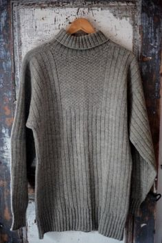 Knit Crochet, Men Sweater, Turtle Neck, Pullover, My Style, Jackets, Knitting Sweaters, Boating, Diy