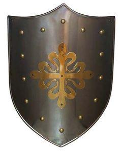 Escudos medievales Marto, hechos en Toledo
