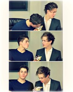 Finn and Caspar. Amazing video!
