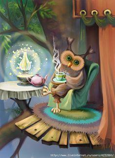 NIght owl enjoying tea or instant coffee:).   Enjoy!    www.gloversgrind.organogold.com