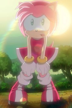 Amy Rose de Sonic X.