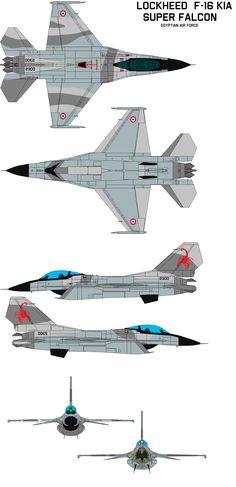 Lockheed F-16kia G super falcon (EAF) by =bagera3005 on deviantART