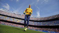 The other side of Barça v Las Palmas. Cool pic! | FC Barcelona