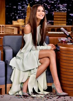 Zendaya at 'The Tonight Show Starring Jimmy Fallon' NBC Studios, Rockefeller Center; New York, NY June 20, 2017