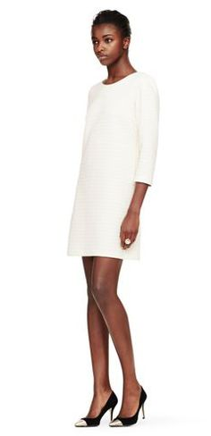 the perfect winter white dress