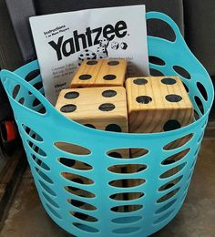 Yard Yahtzee by CraftsbyMimi1 on Etsy