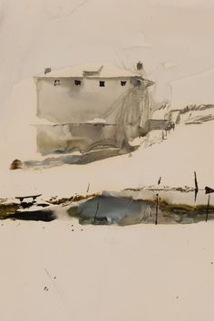 Farm Pond | Andrew Wyeth, 1957