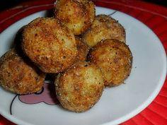 How to Make Crispy Potato Balls   Potato Balls