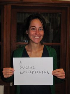 She would be a social entrepreneur if she had the right skills Entrepreneur, Campaign, Youth, Young Man