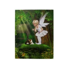 Gatterwe: Cute Fairy Twin Duvet: A cute fairy protects two birds from a cat. A wonderful fantasy Scene! Cute Fairy, Baby Fairy, Fairy Land, Fairy Tales, Soft Baby Blankets, Mythical Creatures, Faeries, Elves, Fantasy Art