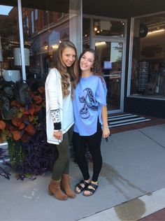 The girls are getting ready for Homecoming! Come in and we can style you! #freepeople