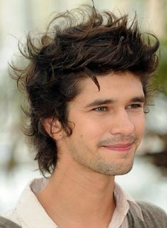 Ben Whishaw......I want to start an appreciation society for the wonder that is Mr Whishaw's hair:)
