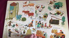 """Wimmelbuch """"Bei uns im Dorf"""" von Ali Mitgutsch (Ravensburger) - Babykana..."""