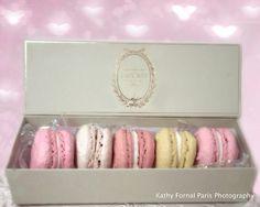 Paris Photography, Laduree Box Macarons, Laduree Patisserie Macarons Art, Paris Food Photography, Dreamy Paris Pink Pastel Laduree Macarons on Etsy, €13,57
