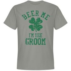 Irish Groom - Bachelor Party | For the Irish Groom while he celebrates the upcoming nuptials.