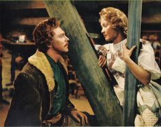 Still of Jane Powell and Howard Keel in Seven Brides for Seven Brothers - 1954