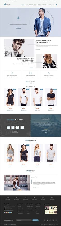 Chiron is a wonderful responsive #WooCommerce #WordPress theme for awesome #eCommerce websites with 4 unique homepage layouts download now➩ https://themeforest.net/item/chiron-multipurpose-woocommerce-wordpress-theme/19470979?ref=Datasata
