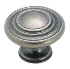 Bath #2 - Knobs for Doors and Drawers in Antique Nickel