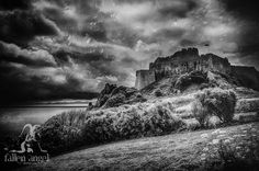 Fallen angel photography Jersey Channel Islands via Facebook. 'The castle of illusions'