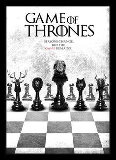 Quadro Poster Series Game of Thrones 18 - Decor10