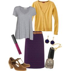 """Mustard and Jelly"" on Polyvore"