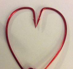 Valentines Day hook heart