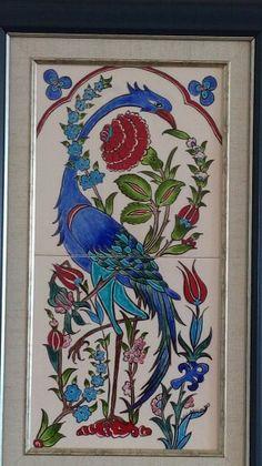 Tile Art, Art Decor, Drawings, My Drawings, Painting, Turkish Art, Pottery Art, Madhubani Painting, Artwork Painting
