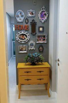 Resultado de imagem para corredores apartamento pequeno