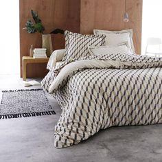Parure 4 Pièces à Motifs Comforters, Beige, Blanket, Bedroom, Furniture, Home Decor, Ainsi, Cousin, Blog Deco