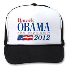 Barack Obama 2012 Apparel Mesh Hats