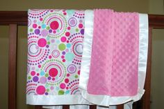 """silky blanket...my new """"next thing to learn to make!"""""""