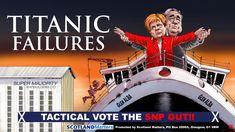 First Draft, Building Companies, Political Cartoons, Titanic, Glasgow, Affair, No Response, Scotland