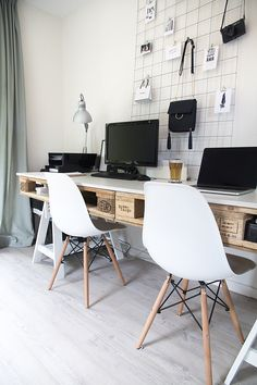 Home office #workspace #eames #office