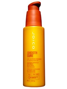 "Joico Smooth Cure Leave-In Rescue Treatment, $19.95 This heat-activated serum, which contains frizz-calming Brazilian-nut oil, hit all the high marks. ""It made my hair softer, shinier, and smoother,"" Downie said. ""And it really moisturized.""   - Redbook.com"