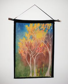 that artist woman: How to do a Fall Glue Batik...she has oodles of really fun art projects and very detailed tutorials!